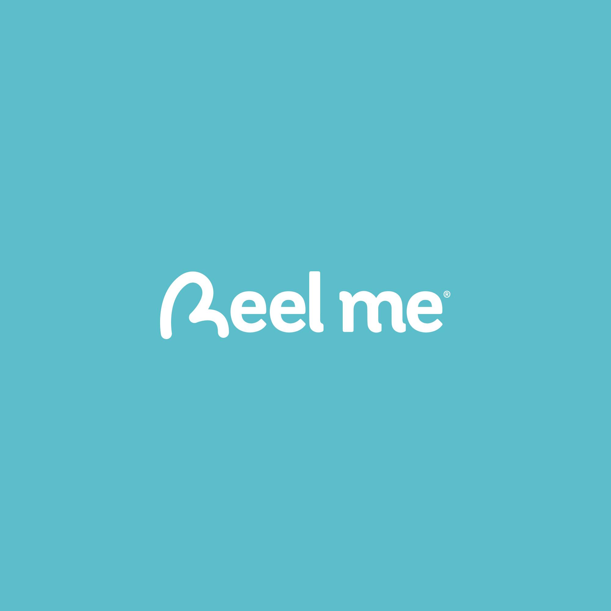 Evidemment l'Agence | logo Reel me OK fond bleu